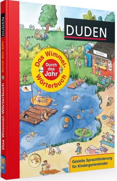 """Das Wimmelwörterbuch """"Durch das Jahr"""""""