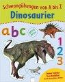 Schwungübungen von A bis Z: Dinosaurier