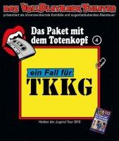TKKG - Das Paket mit dem Totenkopf