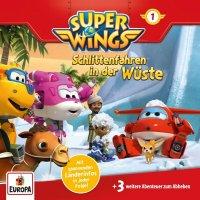 Super Wings - Schlittenfahren in der Wüste