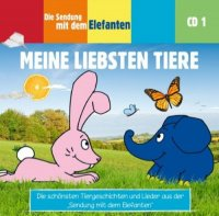 Die Sendung mit dem Elefanten – CD - Meine liebsten Tiere