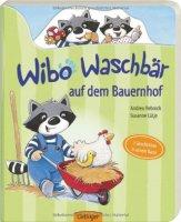 Wibo Waschbär auf dem Bauernhof