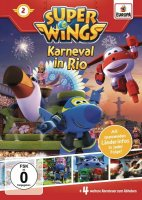 Super Wings DVD 2 Karneval in Rio