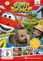 Super Wings DVD 5 Elefanten-babybad