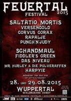 Feuertal Festival 2015 mit u.a. Saltatio Mortis, Schandmaul, Fiddler's Green…