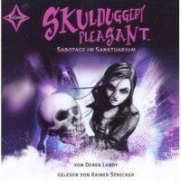 Skulduggery Pleasant- Sabotage im Sanktuarium