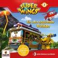 Super Wings - Ein Lava spuckender Vulkan