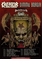 European Apocalypse Tour Flyer