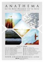 Zehn Jahre 'We're Here Because We're Here': Anathema kündigen Jubiläumstour an!