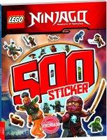 Lego Ninjago – 500 Sticker Band 2: Rätsel-Stickerbuch