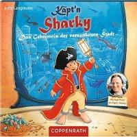 Käpt`n Sharky: Das Geheimnis der versunkenen Stadt CD und Buch